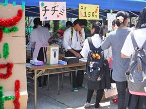 015_西高祭_2-8 模擬店「チヂミ」