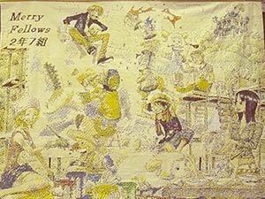 2-7 壁画「ONE PIECE」