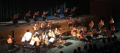 吹奏楽_舞台発表 「西高祭の音で盛り上がろう」審査員特別賞