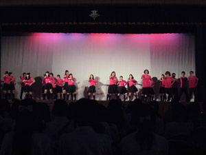 3-2舞台発表 ダンス・歌「One Night Carnival」「絶滅黒髪少女」「学園天国」