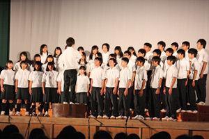 001_西高祭_1-1 自由曲「未来」