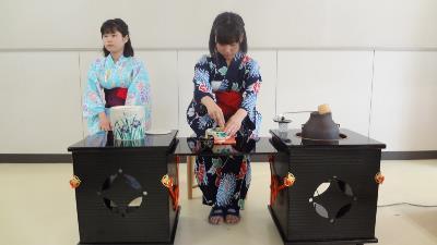 茶道 模擬「お茶会」