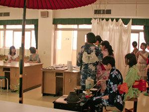 茶道部 模擬店「お茶会」