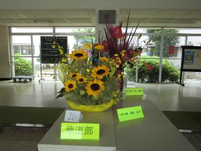 華道 展示「生け花の展示」