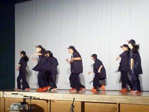 ダンス同好会-舞台・展示-舞台発表-ライブパフォーマンス2