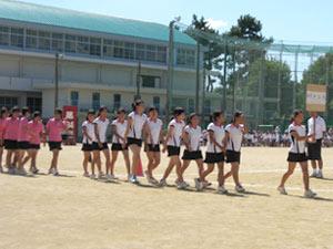 女子 テニス部