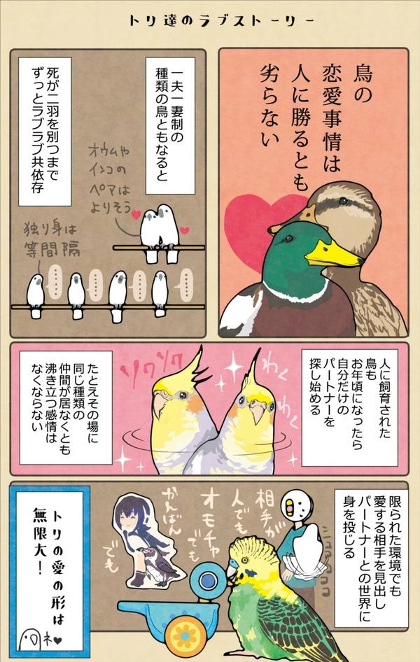 4鳥たちのラブストーリー