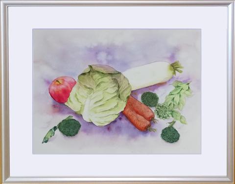 松本直次 2019-03「野菜」