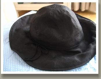 無印良品の帽子