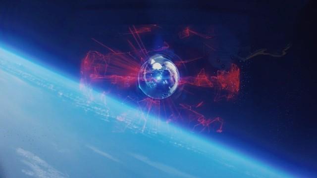 宇宙空間へのホログラム映像の投影と撮影に成功