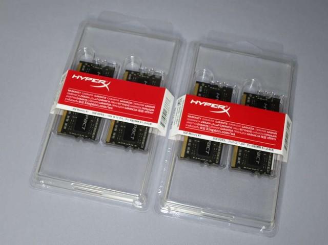 左が「HX318LS10IBK2/8」(1.86GHz)、右が「HX321LS11IBK2/8」(2.13GHz)