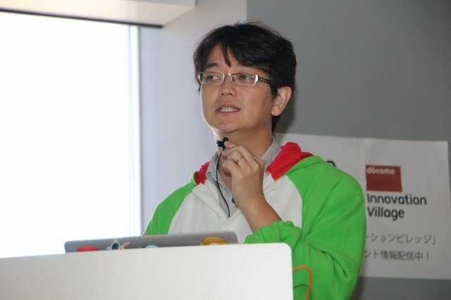 NTTコミュニケーションズ株式会社 技術開発部 担当課長小松健作氏