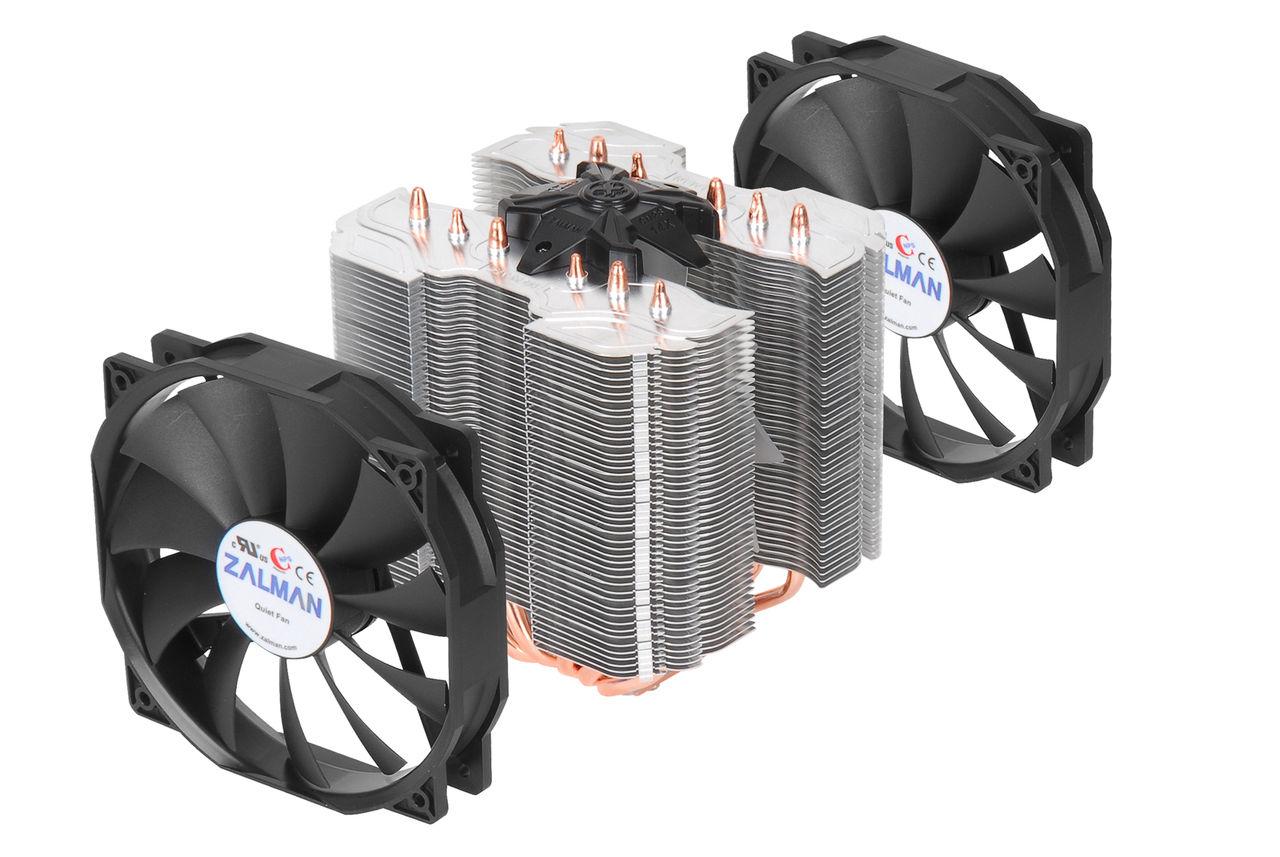 Dodeca冷却器出现了!巨大的CPU散热器配有ZALMAN的6根热管