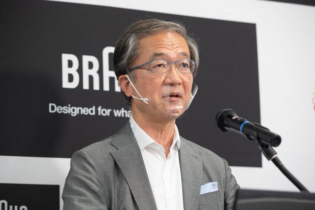 デロンギ・ジャパン株式会社 代表取締役社長 杉本 敦男氏