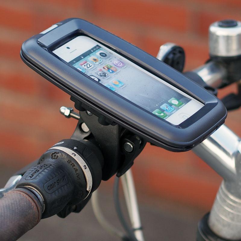 防水のiPhone5マウンター! バイクや自転車にiPhone5が装着できるマウント【イケショップのレアもの】
