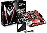 ASRock Z170 Gaming-ITX/ac MiniITXマザーボード MB3480 Z170 Gaming-ITX/ac