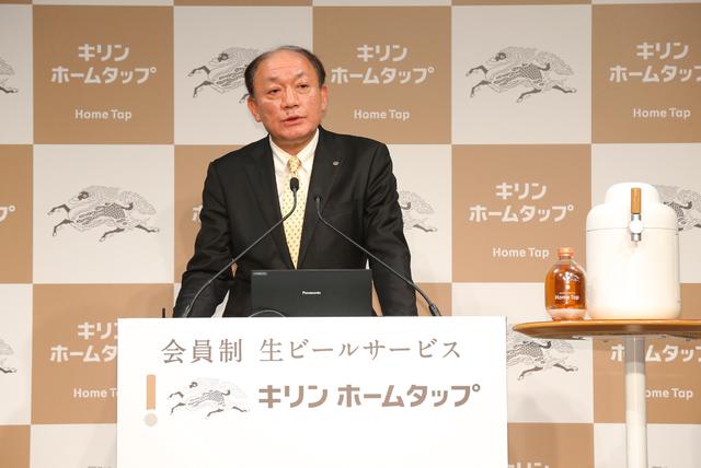 キリンビール株式会社 代表取締役社長 布施孝之氏