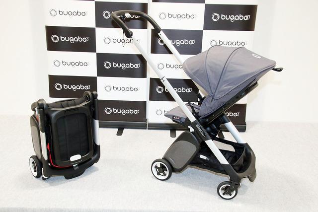 軽量でコンパクトな新製品「Bugaboo Ant」