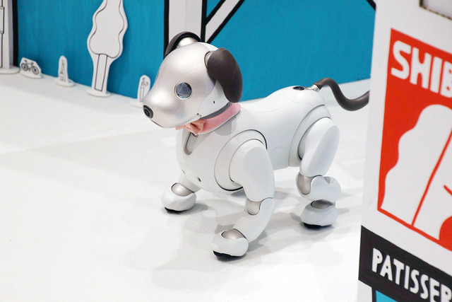 体験型イベント「Shibuya Town with aibo」