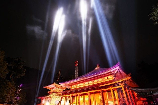 第一弾:世界文化遺産 比叡山延暦寺と初のコラボ