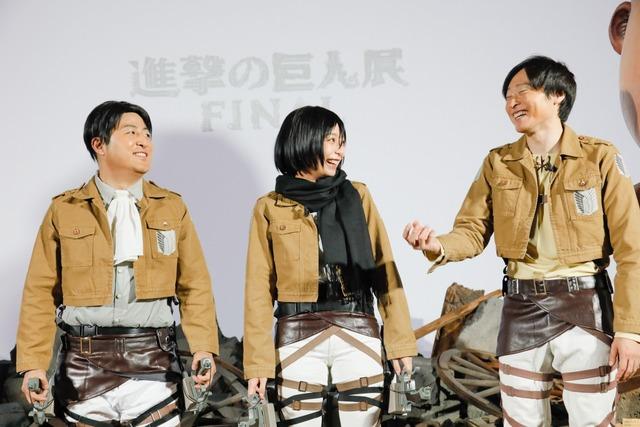 宇垣さんと和牛さんは実際に原画展を見た感想を語った