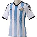(アディダス)adidas アルゼンチン代表 ホーム レプリカジャージー S/S AI216 G74569 ホワイト/コロンビアブルー/アルゼンチンブルー/ブラック J/M
