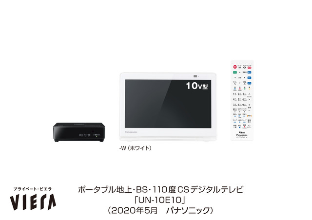 """Photo of Panasonic releases its useful waterproof TV private VIERA """"UN-10E10"""", which allows you to enjoy TV even in water areas such as baths and kitchens from Panasonic"""