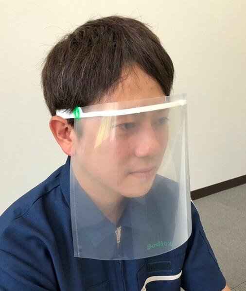 フェイスシールド用フレーム「Face Tech」