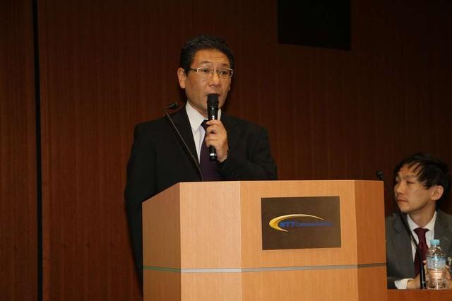 NTTコム チェオ株式会社ICTサポート事業部 事業部長 六代 尚氏