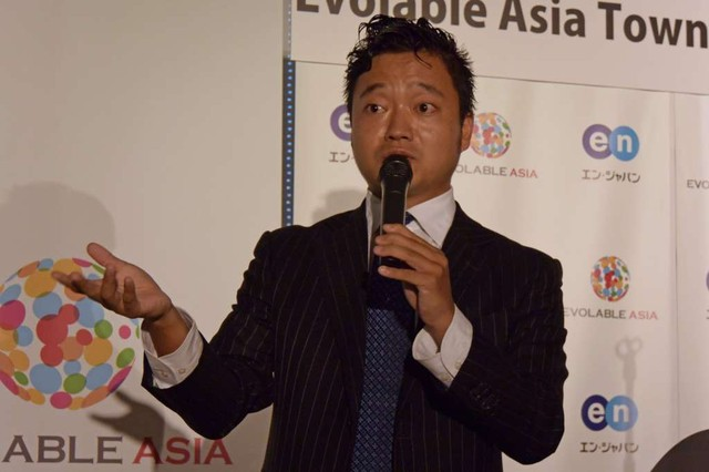 Evolable Asia日本法人代表吉村英毅氏