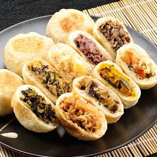 信寿食:おやき9種
