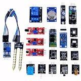 ベスト センサーモジュール キット 20種セット for Arduino / raspberry pi 2 収納ケース付き(温度センサー/ホール効果センサー/赤外線トラッキングセンサー/タッチセンサー/マイク・サウンドセンサー/デジタル温度&湿度センサー/3色フルカラー SMD LEDモジュール/赤外線リモコン受信モジュール/赤外線送信モジュール/Bluetooth モジュールリレー モジュール/レーザーセンサー/遮光センサー/水銀チルトセンサー/リードスイッチ/火炎検知センサー/赤外線障害物検知センサー/土壌湿度検出モジュール/光センサー/可燃ガス&煙センサー)