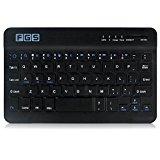 F.G.S ドスパラ NEC LAVIE Tab E TE508/BAW PC-TE508BAW キーボード (Android/Windows8/iOS対応) [JP配列/US配列両方対応] 超薄型Bluetoothキーボード [タブレットスタンド付き] 7、8インチ兼用キーボード 日本語取扱説明書付 F.G.S並行輸入品 [並行輸入品]