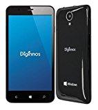 Diginnos SIMフリー スマートフォン 16GB(Windows10 mobile/クアッドコア/5.0インチ/デュアルSIM)(LTE対応) DG-W10M