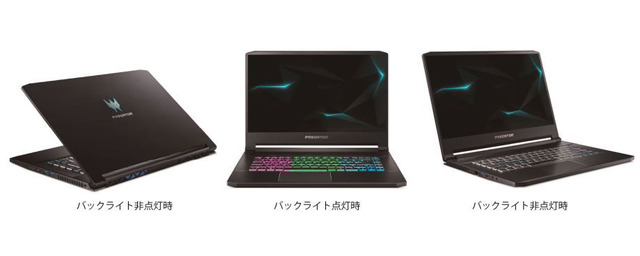 "Photo of Acer introduces 5 series 9 products such as high-spec gaming notebook "" Predator '' adopting NVIDIA Max-Q Design"