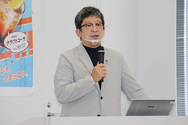 株式会社モスフードサービス 上席執行役員 安藤 芳徳氏