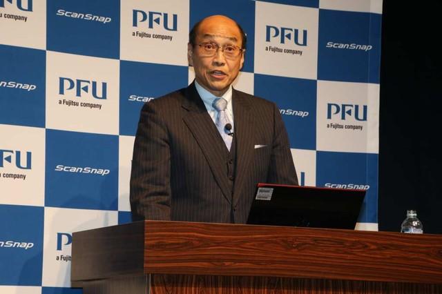 株式会社PFU代表取締役社長 長谷川清氏