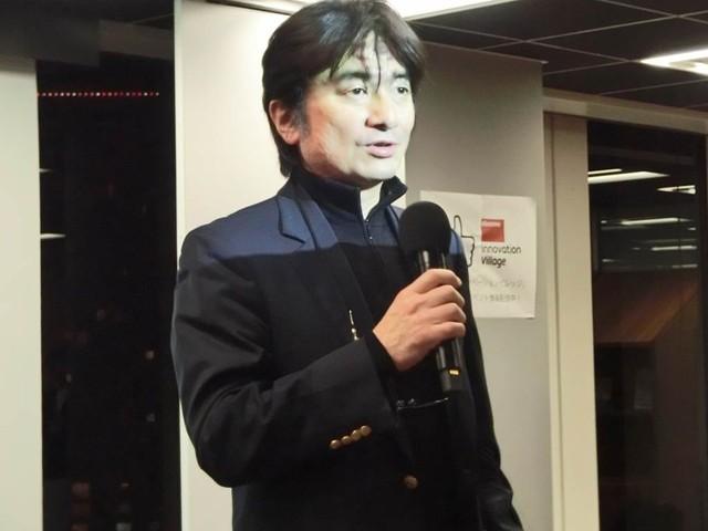 NTTドコモベンチャーズ代表鵜取締役 兼 株式会社みらい翻訳代表取締役の榮藤稔氏