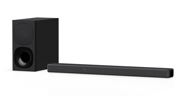 """Photo of 3.1-channel sound bar """"HT-G700"""" that expands the surround sound field according to a large-screen TV from Sony and reproduces more immersive stereophonic sound"""