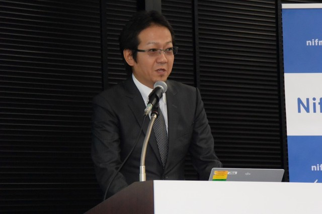 ニフティ株式会社 ネットワークサービス事業部長 三浦信治氏