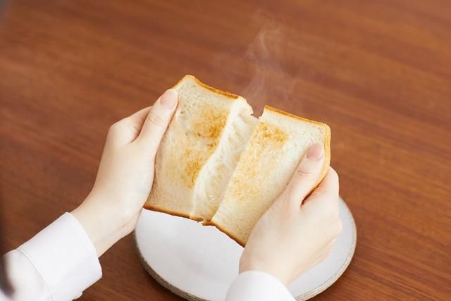 三菱電機『ブレッドオーブン』_トースト