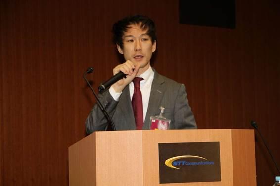 NTTコミュニケーションズ株式会社 ICTコンサルティング本部担当課長古澤祐治氏