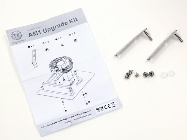 AMD AM1向けのリテンションキットが付属