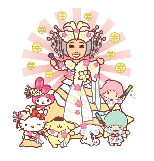 小林幸子さん×サンリオキャラクターコラボレーションデザイン①