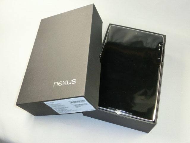 速い・安い・うまいの三拍子!GoogleのAndroidタブレット「ASUS Nexus 7」開封レポート