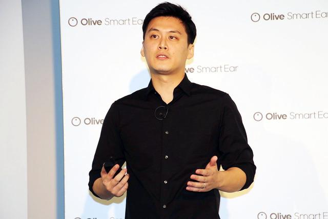 Olive Union CEO Myung Geun Song (ソン・ミョンクン)氏