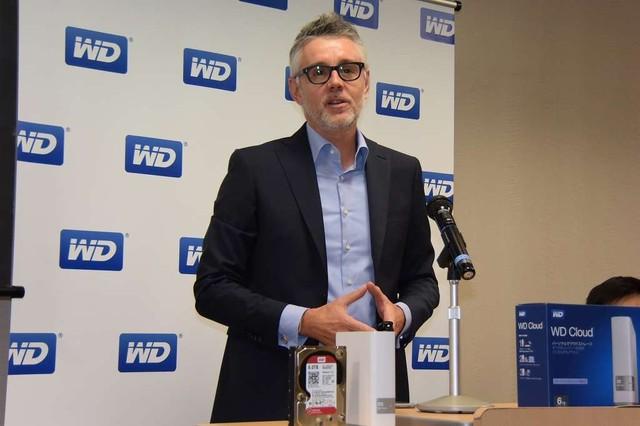 WDネットワークコンテンツソリューションズ担当バイスプレジデント兼ジェネラルマネージャー Sven Rathjen(スヴェン・ラスジェン)氏