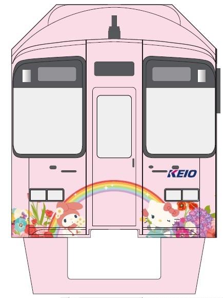 キティちゃん電車①