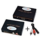 LinkS HDMI to HDMI with SPDIF + 3.5mm Audio Extractor Converter