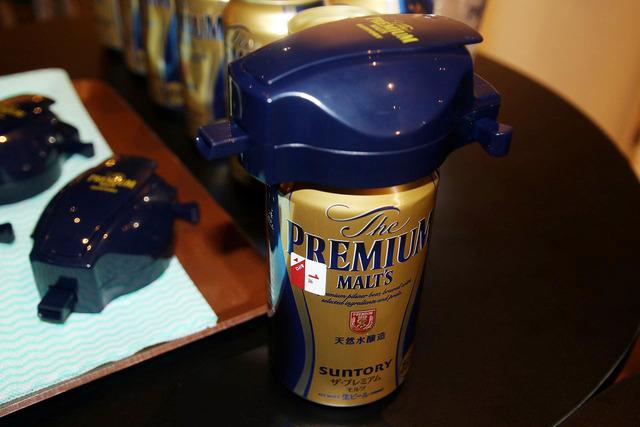 神泡サーバーがあれば、缶ビールでも「神泡」が作れる
